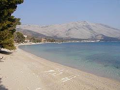 Orebic main beach - Trstenica